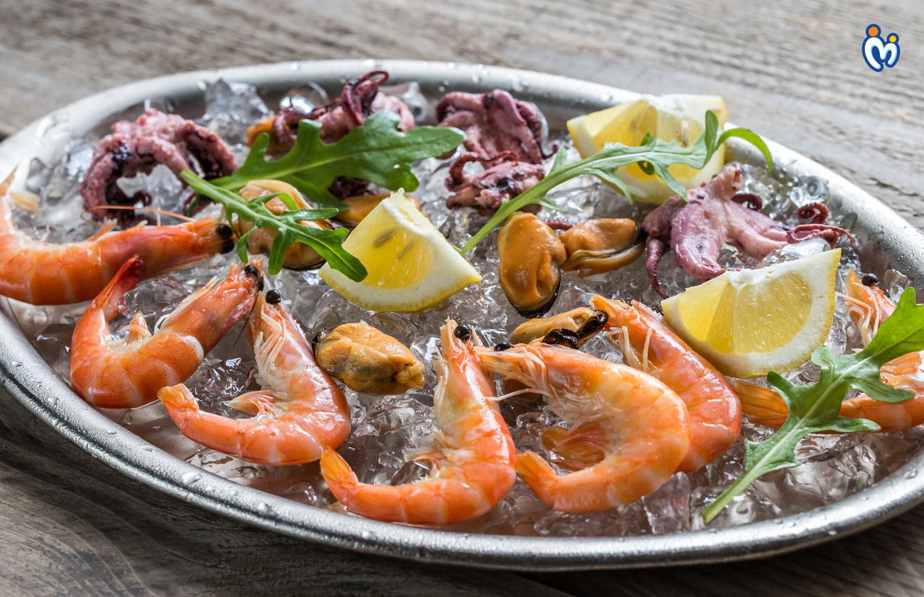 समुद्री भोजन