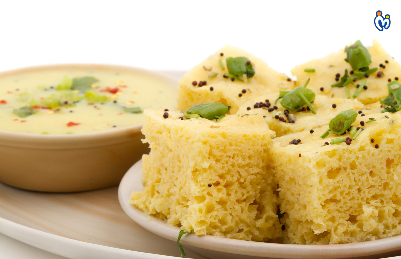 Dhokla healthy food for pregnant women